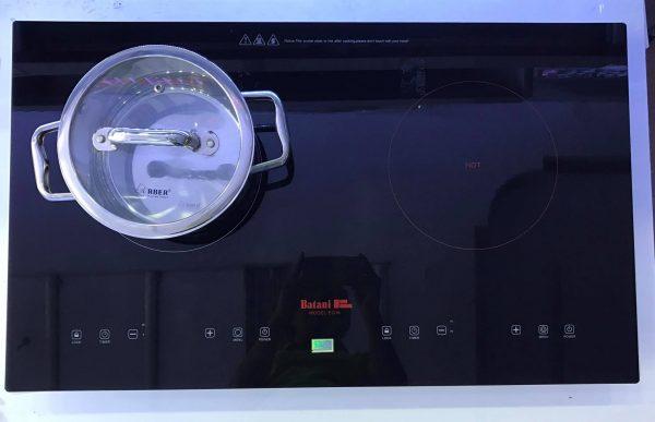 Hình ảnh minh họa bếp điện từ đôi Batani EG-16 giá rẻ chất lượng tốt